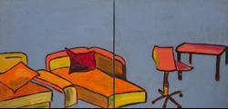 Art: Cheerful living (diptych) by Artist Gabriele M.