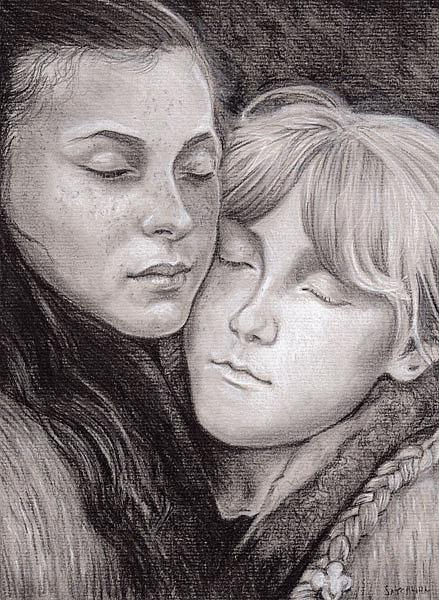 Art: Sisters by Artist Mark Satchwill