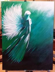 Art: My Angel by Artist Jennifer Lee