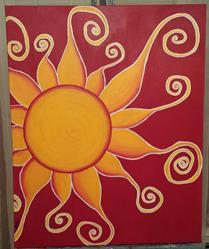 Art: My Sun by Artist Jennifer Lee
