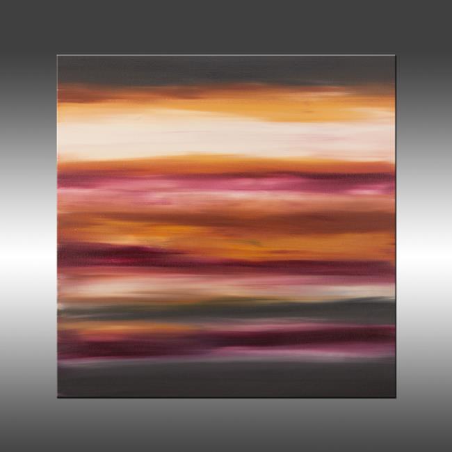 Art: Sunset 42 by Artist Hilary Winfield
