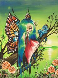 Art: Emerald Dream by Artist Nico Niemi