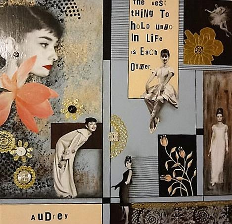 Art: Audrey by Artist Vicky Helms