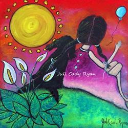 Art: Letting Go II by Artist Juli Cady Ryan