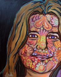 Art: Beneath The Mask by Artist Lindi Levison
