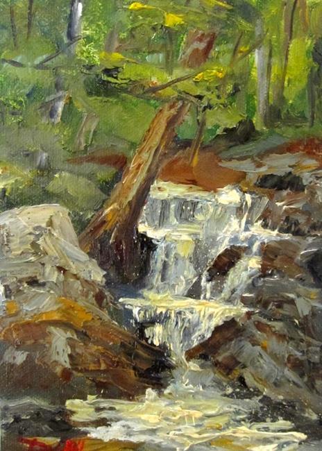 Art: Falling Water by Artist Delilah Smith