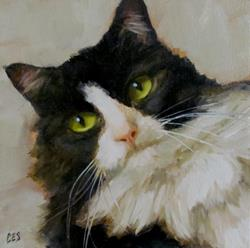 Art: Unimpressed by Artist Christine E. S. Code ~CES~