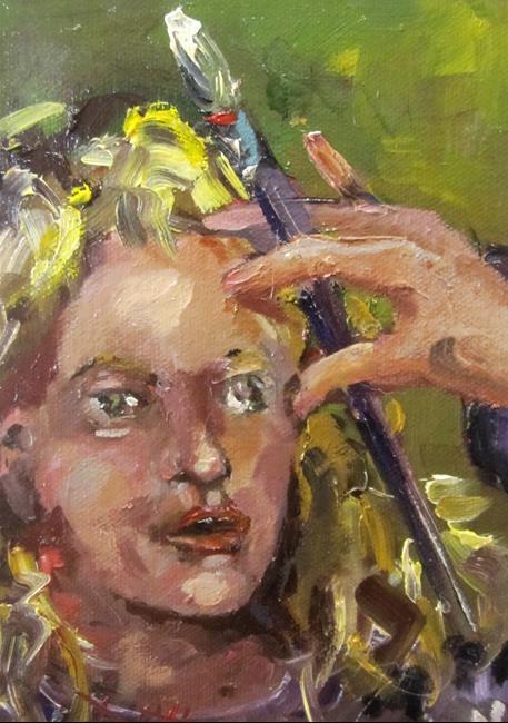 Art: The Artist by Artist Delilah Smith
