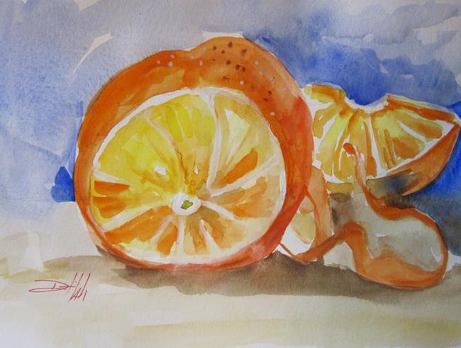 Art: Orange by Artist Delilah Smith