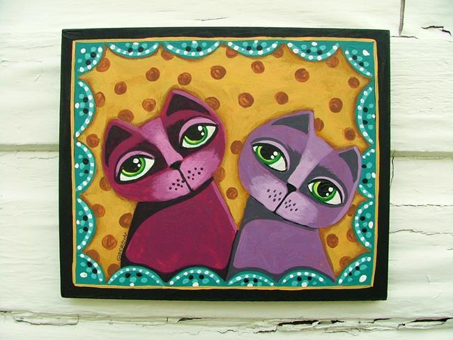 Art: The Color Purple by Artist Cindy Bontempo (GOSHRIN)