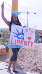 Art: Miss Liberty by Artist SINdustry CITY Productions LLC