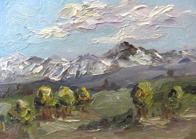 Art: Snowy Vista by Artist Delilah Smith