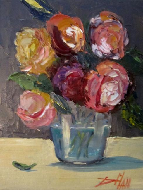 Art: Vase of Flowers by Artist Delilah Smith