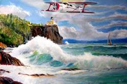 Art: Flyby by Artist Roy S. Alba