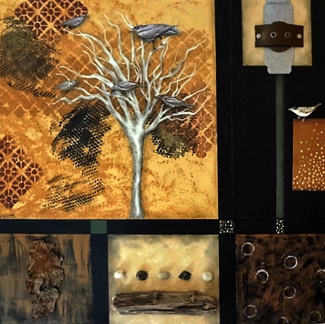 Art: Gray Tree by Artist Vicky Helms