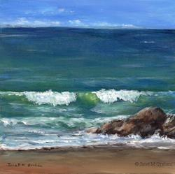 Art: Horizon by Artist Janet M Graham