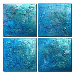 Art: SEASONS 2 by Artist HENRY PARSINIA