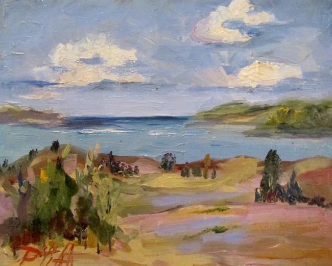 Art: The Big Lake No. 2 by Artist Delilah Smith