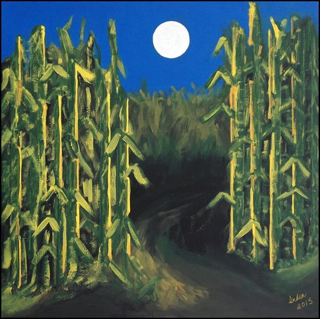 Art: Corn Maze by Artist Indiamoss