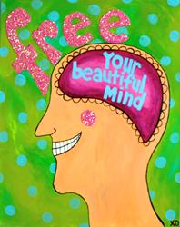 Art: 2015 Free Your Beautiful Mind by Artist Becci Hethcoat