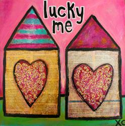 Art: 2015 Lucky Me by Artist Becci Hethcoat