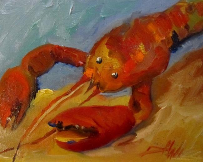 Art: Lobster by Artist Delilah Smith