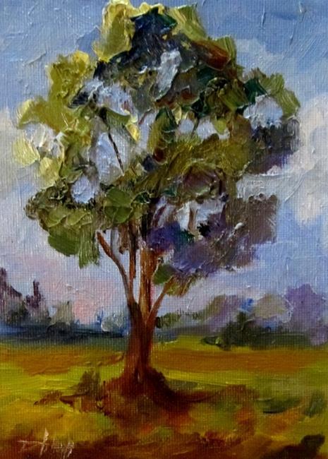 Art: Summer Tree by Artist Delilah Smith