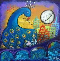 Art: Taking Back the Night by Artist Juli Cady Ryan