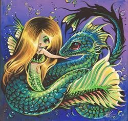Art: Water Whisper by Artist Nico Niemi