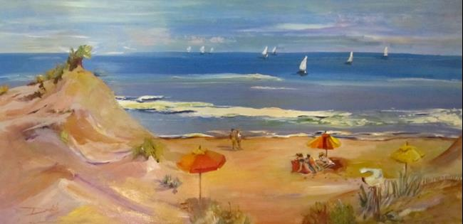 Art: On the Sands of the Dunes by Artist Delilah Smith