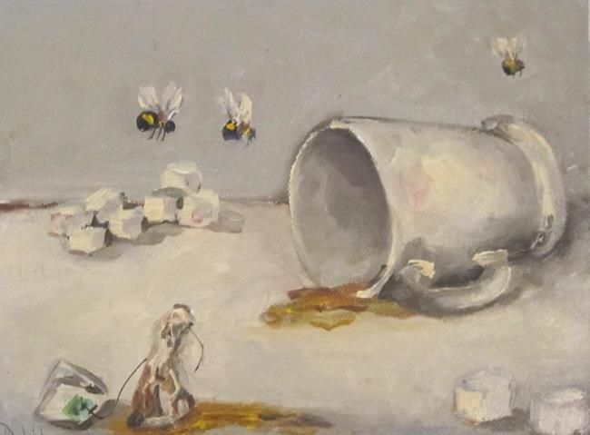 Art: Tea Party by Artist Delilah Smith