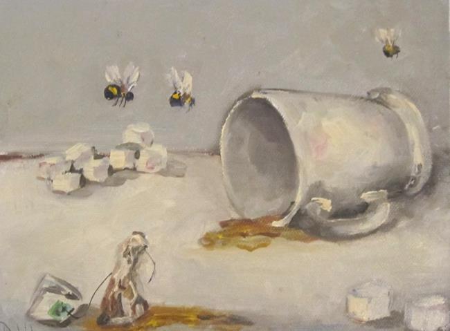 Art: Tea Party by Artist Delilah Smith