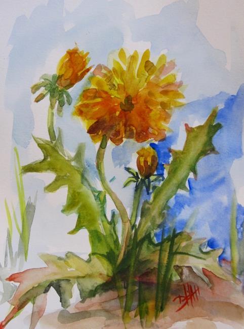 Art: Dandelion by Artist Delilah Smith