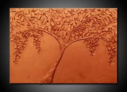 Art: COPPER TREE by Artist Kate Challinor