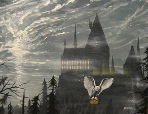 Detail Image for art Letter to Sirius Black