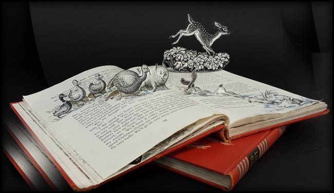 Art: The Animals' Escape by Artist Ann Murray