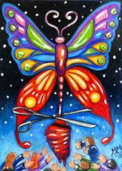 Art: Freed to Transform by Artist Monique Morin Matson