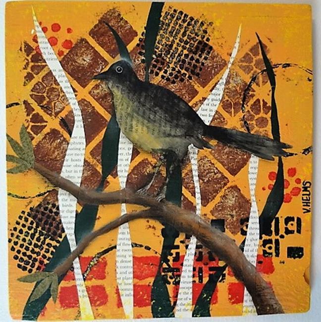 Art: Put a Bird on It. by Artist Vicky Helms