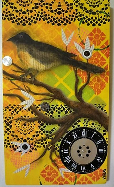 Art: Rockin' Robin by Artist Vicky Helms