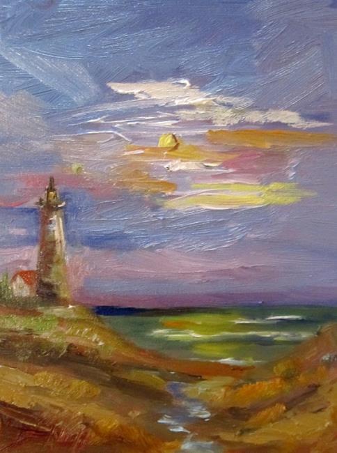 Art: Lighthouse by Artist Delilah Smith