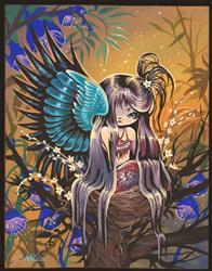 Art: Fairy Dreaming by Artist Nico Niemi