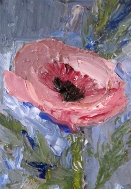 Art: Poppy in Pink by Artist Delilah Smith