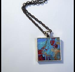 Art: Textured Abstract ~ Wearable Art by Artist Dana Marie