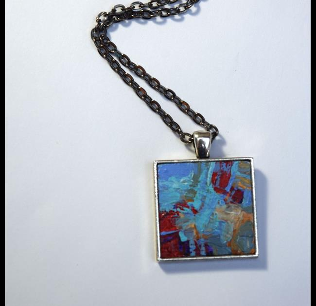 Art: Reflect ~ Original Wearable Art by Artist Dana Marie