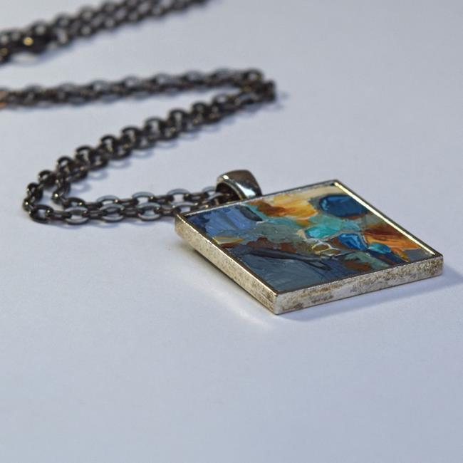 Art: Abstract - Original Wearable Art by Dana Marie (sold) by Artist Dana Marie