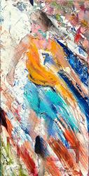 Art: The Finish Line (SOLD) by Artist Alma Lee