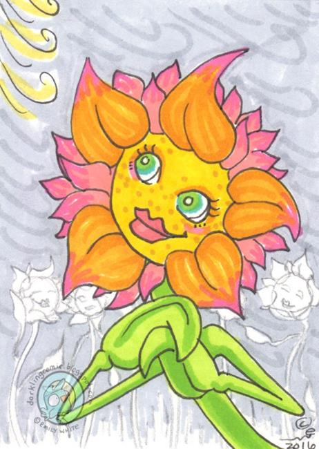 Art: Spring Wind by Artist Emily J White