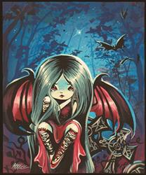 Art: Night Wings by Artist Nico Niemi