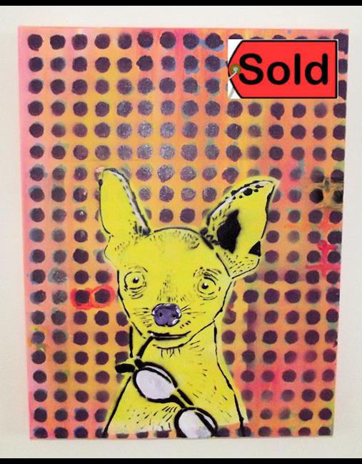 Art: EYE Chihuaha sold by Artist Paul Lake, Lucky Studios