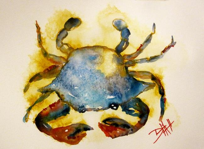 Art: Blue Crab-sold by Artist Delilah Smith